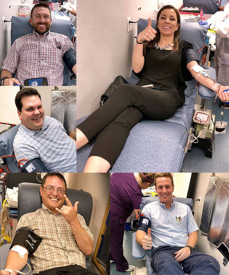 3rd annual Giving For Gus Blood drive