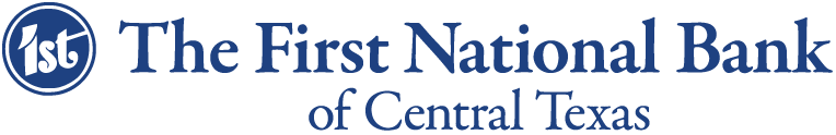 The First National Bank of Central Texas Logo