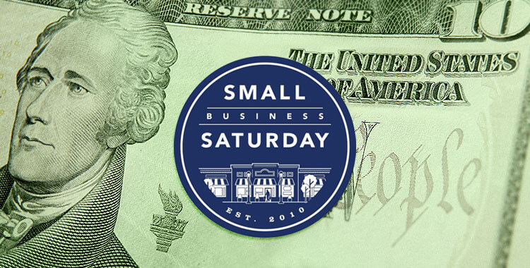 Small Business Sat Cash Mob